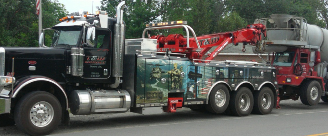 <center>24/7 Emergency Statewide Heavy Towing